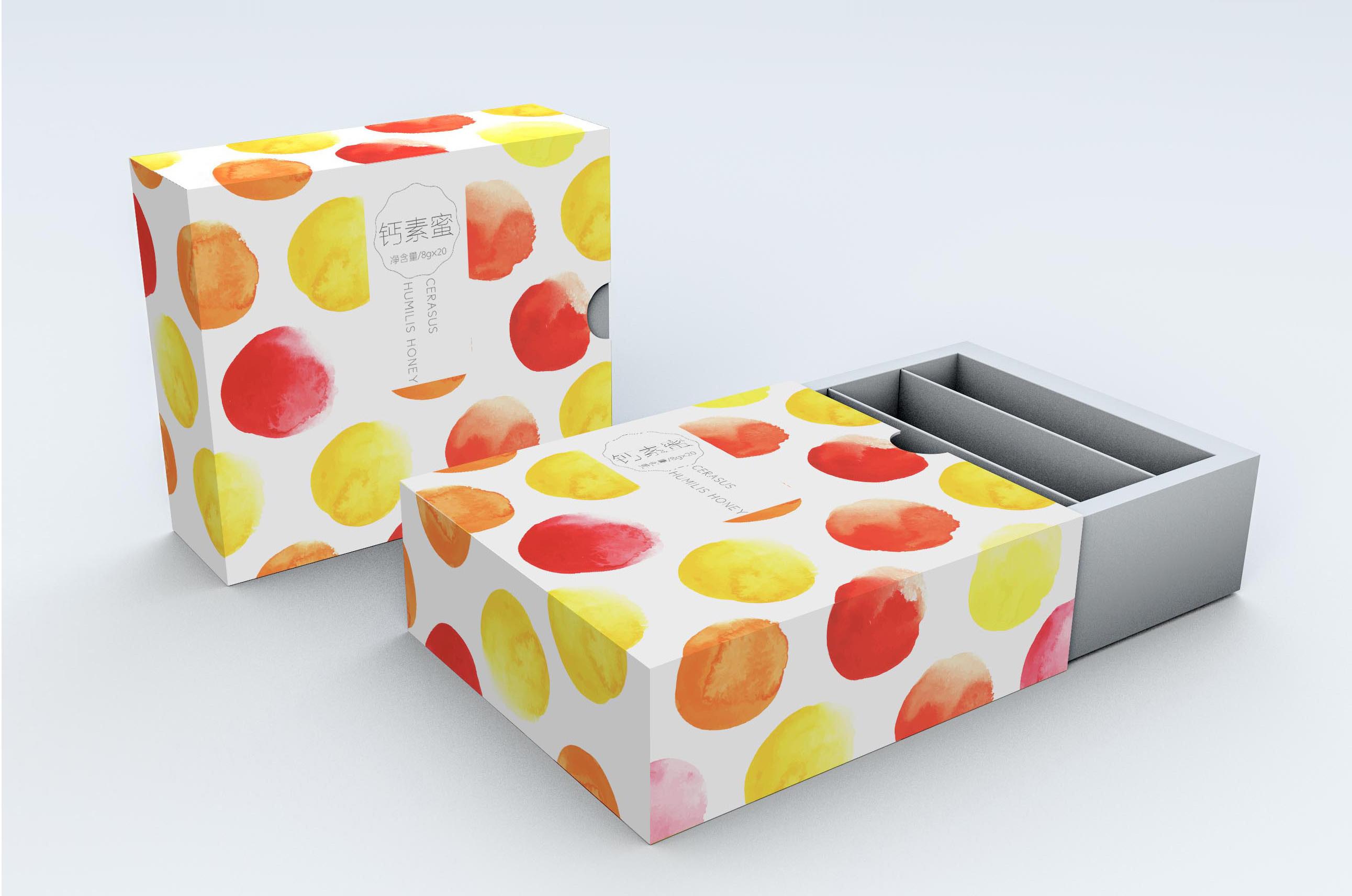 钙素蜜-高端食品包装设计