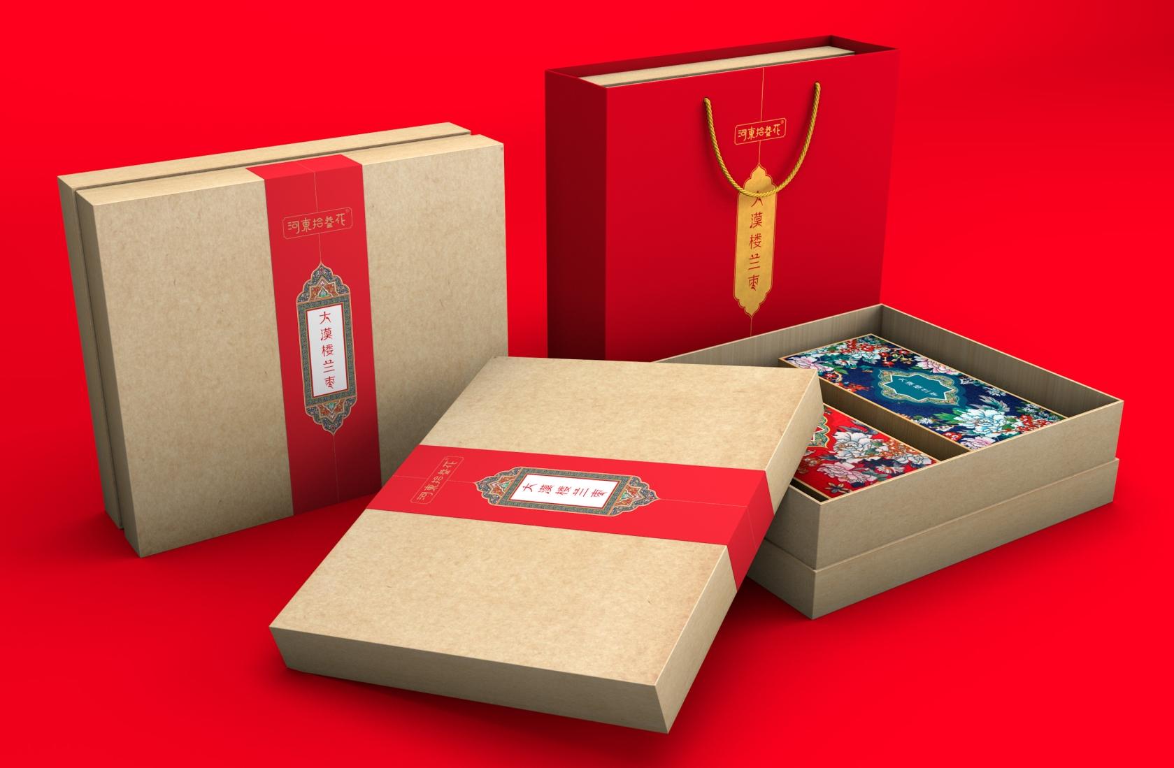 大漠楼兰枣-高端礼盒包装设计