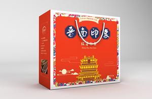 晋南印象红薯粉条包装设计