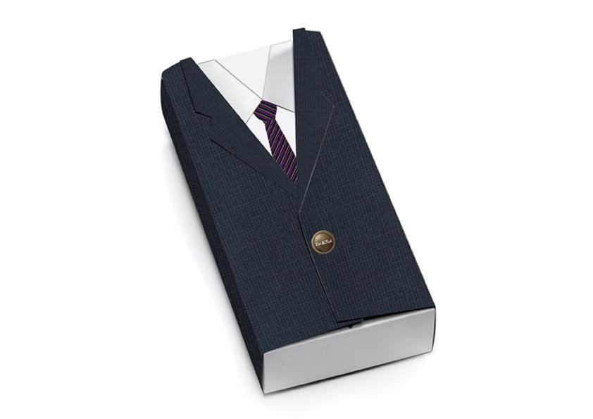 君和·高级定制男装高档礼品盒设计