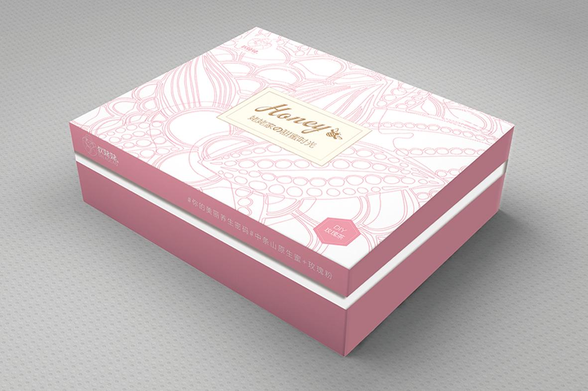 狄姥姥蜂蜜茶礼品盒包装设计