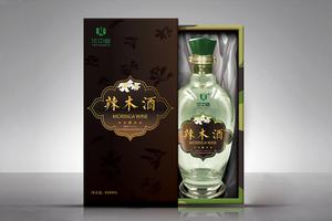 北京中复联投辣木酒礼盒包装设计