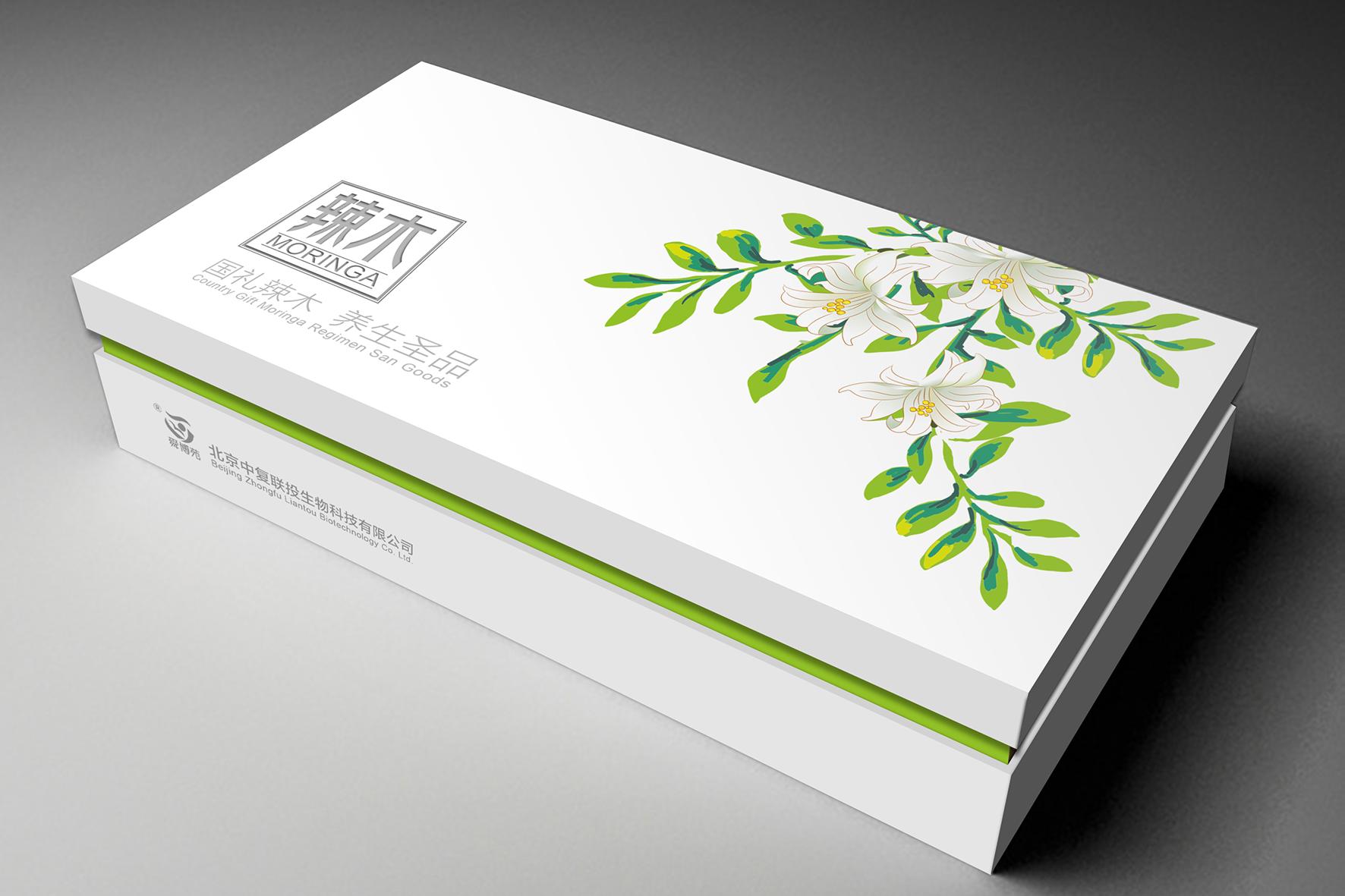 北京中复联投辣木礼品盒包装设计