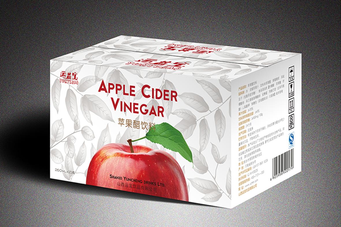 运益宝苹果醋 包装设计